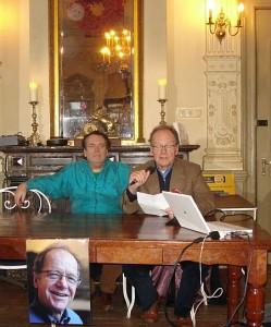 Pitt Treumann (rechts) en Maarten Lubbers