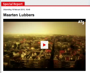 Maarten Lubber in AT5 Special Report