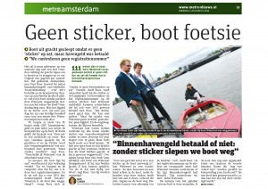 Metro_Geen_sticker_boot_foetsie