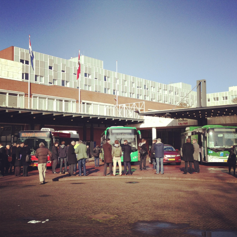 Presentatie elektrische bussen