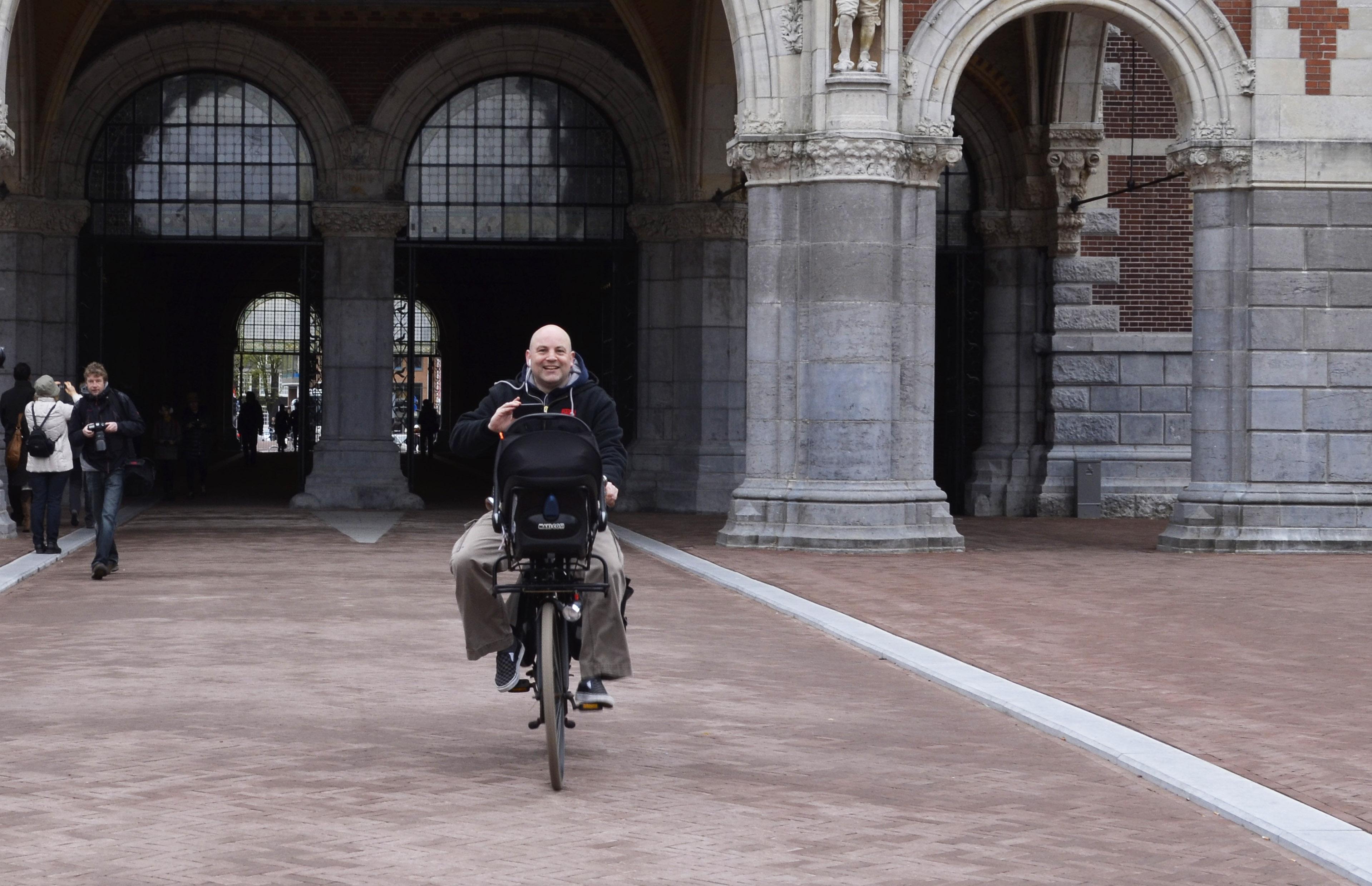Boris Klatser, duo-raadslid Red Amsterdam