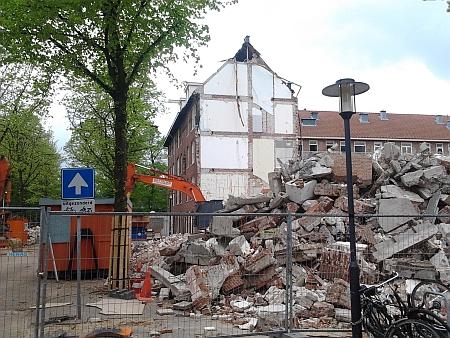 Sloop van sociale huurwoningen in Amsterdam (Tugelaweg)